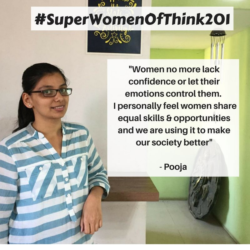 Pooja - #SuperWomenOfThink201