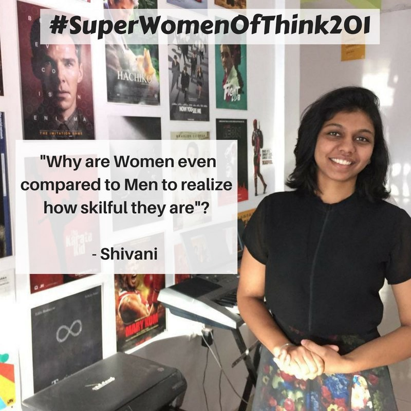 Shivani - #SuperWomenOfThink201