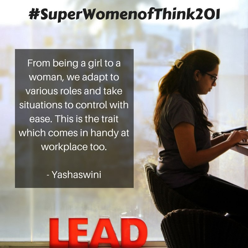 Yash - #SuperWomenOfThink201