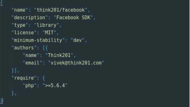 Laravel - Think201 Facebook