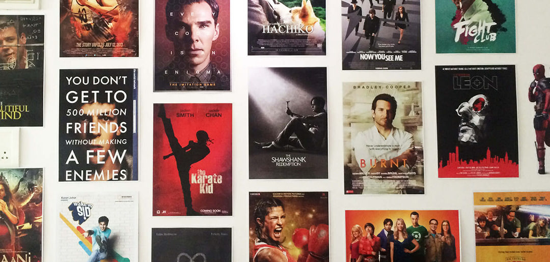 A Whole Wall of Movies