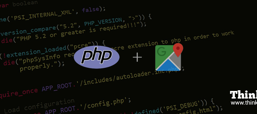 How To Integrate Google API (Maps) with PHP?