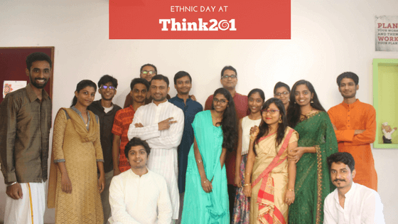 Dussehra Celebrations at Think201 – Ethnic Day